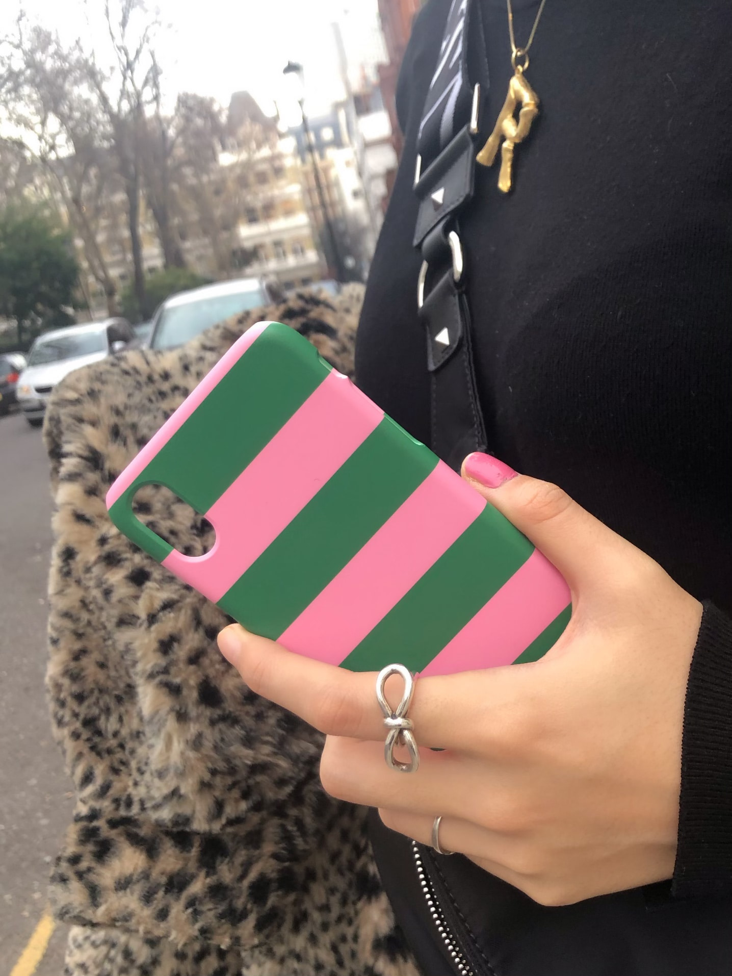 Candy Stripes (Pink-Green)