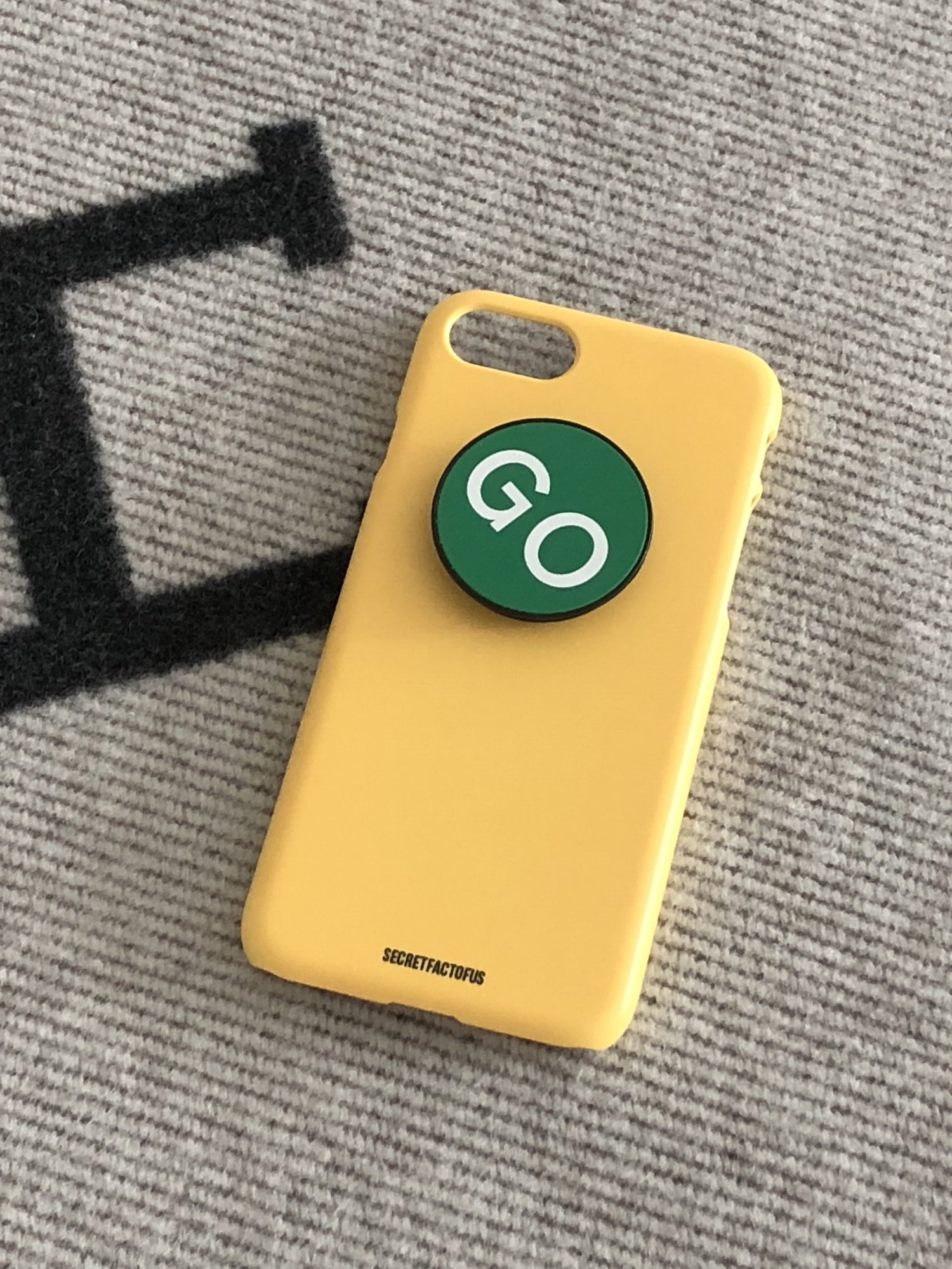 Simple Color Case [ Brazil Yellow ]